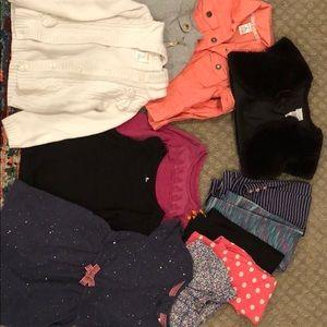 3T lot of clothes